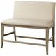 Torrin Upholstered Counter-Height Bench