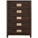Davis Direct Llc (hackney Homes) Adir Drawer Chest Brown