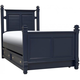 Varsity Twin Post Bed W/ Trundle -