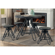 O'Toole 5-pc. Adjustable Height Dining Set