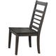 Eastlane Large Wood Dining Chair: Set of 2