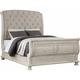 Barton Creek Upholstered Queen Sleigh Bed