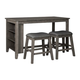 Nash 3-pc. Counter-Height Dining Set