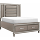 Selena King Platform Storage Bed