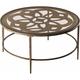 Marsala Glass Coffee Table