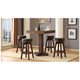 Guinness 5-pc. Bar-Height Gaming and Dining Set