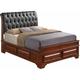 Sarasota Upholstered King Storage Bed