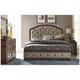 Liberty Furniture Ind. Ltd. Kitteredge 4-pc. Upholstered King Panel Bedroom Set