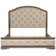 Liberty Furniture Ind. Ltd. Kitteredge Upholstered King Panel Bed