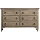 Myra 6-Drawer Bedroom Dresser