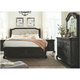 Magnussen Home Furnishing Inc. Bellamy Upholstered 4-pc. California King Storage Sleigh Bedroom Set W/ Arched Mirror