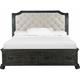 Magnussen Home Furnishing Inc. Bellamy Upholstered California King Storage Sleigh Bed