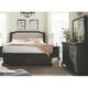 Magnussen Home Furnishing Inc. Bellamy Upholstered 4-pc. California King Storage Sleigh Bedroom Set W/ Landscape Mirror