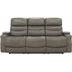 Optimus Leather Power Sofa w/Power Headrest and Lumbar