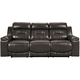 Cullen Leather Power Sofa with Power Headrest