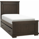 Bexley Twin Panel Bed w/ Trundle