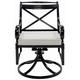 Sentosa Outdoor Swivel Dining Chair