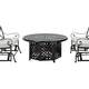 Sentosa 3-pc. Outdoor Fireside Chat Set