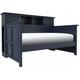 Varsity Bookcase Daybed - Navy Blue