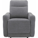 Yardley Chenille Power Recliner with Power Headrest and Lay Flat
