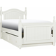 Willow Point Twin Post Bed w/ Trundle