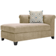 Corolla Microfiber Left-Arm-Facing Chaise