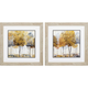 Golden Trees Wall Art