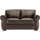 Marsala Leather Loveseat