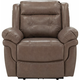Gorton Leather Power Recliner