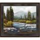 River Framed Canvas Wall Art