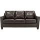 Raylen Leather Queen Sleeper Sofa