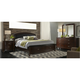 Avalon Upholstered 4-pc. King Storage Bedroom Set w/ Square Mirror