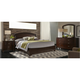 Avalon 4-pc. King Panel Bedroom Set w/ Arched Mirror