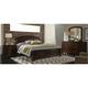 Avalon 4-pc. King Storage Bedroom Set w/ Arched Mirror