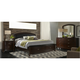 Avalon Upholstered 4-pc. King Storage Bedroom Set w/ Arched Mirror