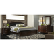 Avalon Upholstered 4-pc. Queen Storage Bedroom Set w/ Square Mirror