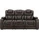 Othello Power Sofa w/Power Headrest