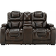 Othello Power Console Loveseat w/Power Headrest