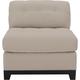 Cindy Crawford Home Metropolis Microfiber Armless Chair