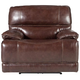 Wallace Leather Power Recliner