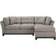 Cindy Crawford Home Metropolis 3-pc. Sectional Sofa