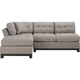 Cindy Crawford Home Metropolis 2-pc. Left Hand Facing Microfiber Sectional Sofa