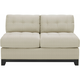 Cindy Crawford Home Metropolis Armless Loveseat