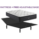 Beautyrest Black L Class Medium Pillowtop Queen Mattress with Free Adjustable Base