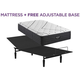 Beautyrest Black L Class Medium Twin XL Mattress with Free Adjustable Base