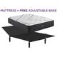 Beautyrest Black L Class Medium Queen Mattress with Free Adjustable Base