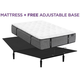 Aireloom Somerset Firm Queen Mattress with Free Adjustable Base