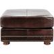 Lafeyette Leather Ottoman