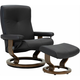 Stressless Dover Large Chair w/Ottoman
