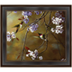Purple Flowers Framed Canvas Wall Art